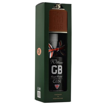 Chase GB Gin Hipflask Giftset