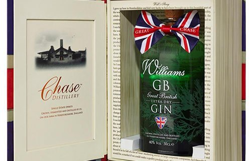 Williams gb gin gift book - chase gb