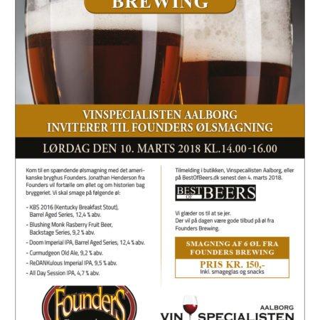 Ølsmagning Founders