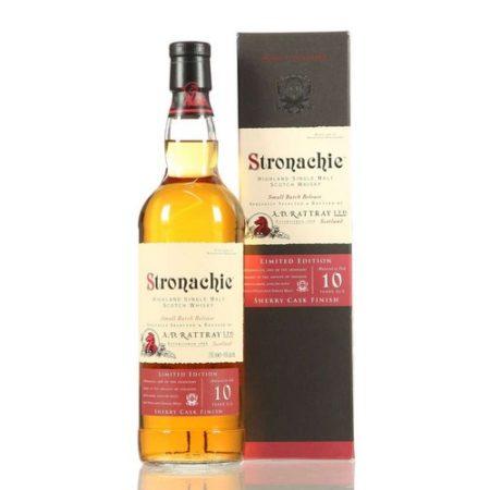 stronachie sherry cask
