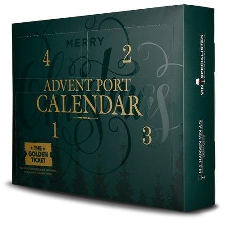 Portvinskalender, forside