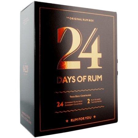 rom julekalender 2020 - køb 24 days of rum